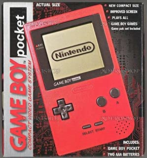 Game Boy Pocket - Red