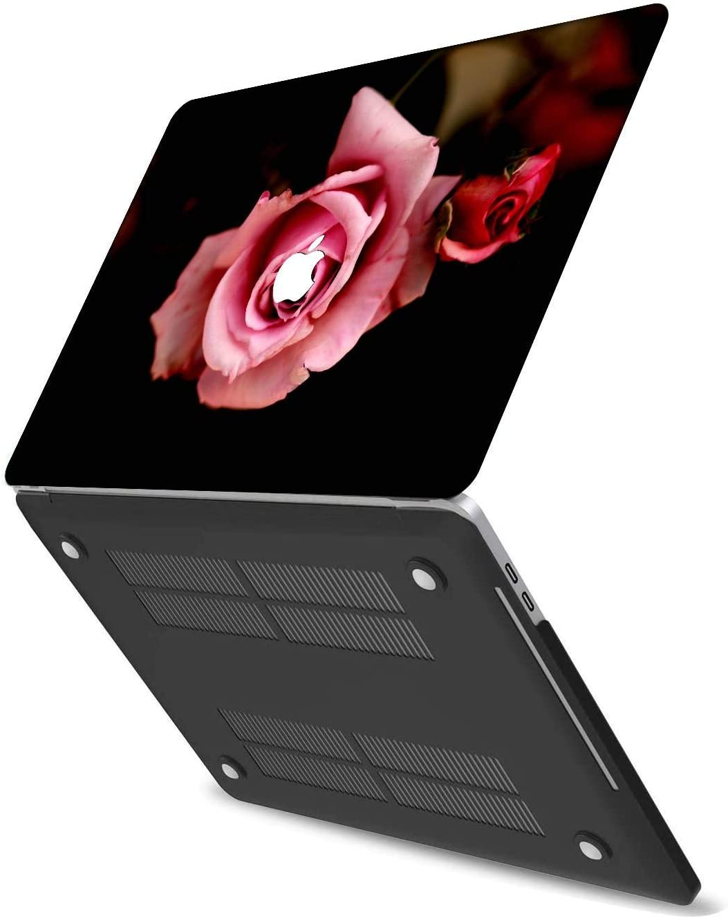 NKDCase Case for MacBook Pro 13 inch Retina Model A1425//A1502 Cut Out Design,Plastic Ultra Slim Light Hard Case Keyboard Cover Compatible MacBook Pro 13 inch No CD ROM//Touch,Flowers A 0396