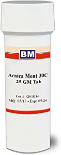 Arnica Montana 30c, 300 pellets, Natural Pain Relief for Shoulder, Neck and Back Pain, a Remedy for Bruising or Muscle Soreness from Overexertion or Injury, Useful for Sprains and Swelling