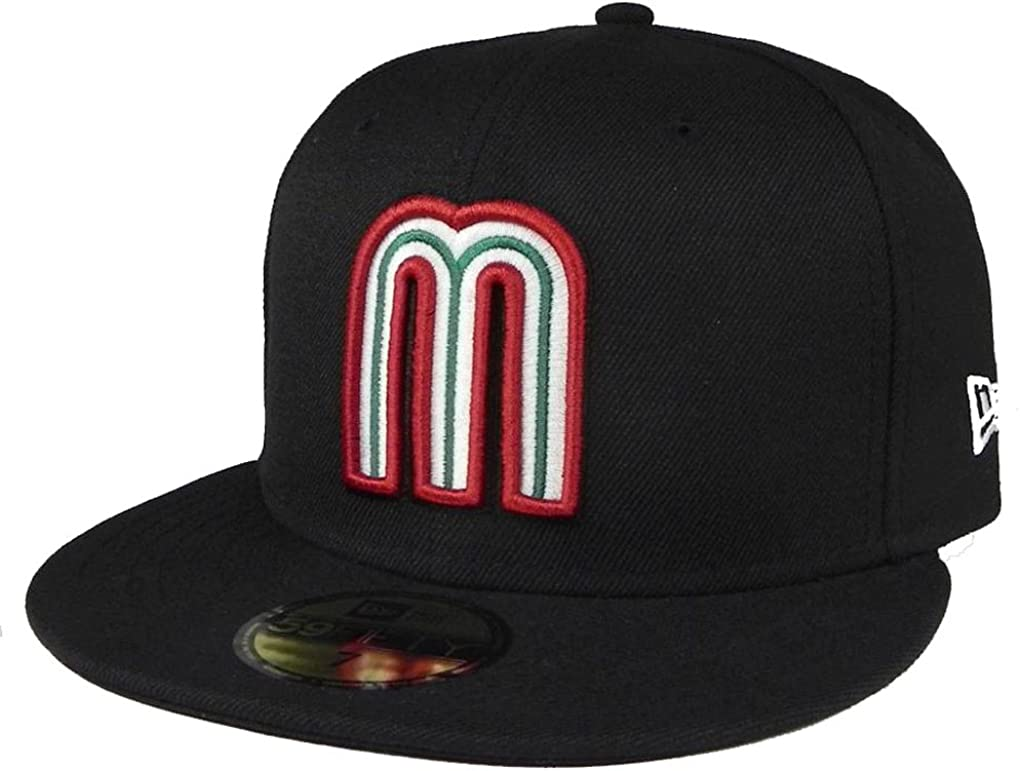 Mexico Fitted Miami Mall Hat World Baseball Classic 59FIFTY Cap WBC New Era Ranking TOP7
