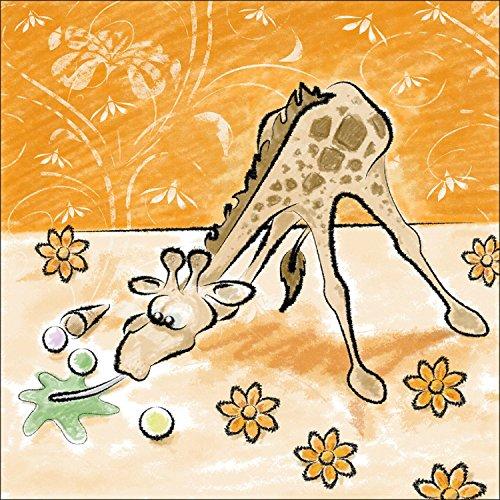 PRO-Art tt010z5 - Dipinto murale per Bimbi, Arte su Tela, Gina Giraffe\ (Gina
