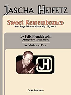 Sweet Remembrance From Songs Without Words, Op. 19, No. 1