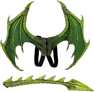Kinder-Flügel zum Drachenkostüm Dragon Drachenflügel Faschingsflügel Dinosaurier
