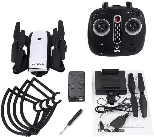CHOULI X28 Faltbare GPS-RC-Drohne mit verstellbarem 720P WiFi HD-Kamera-H nhalteWeiß
