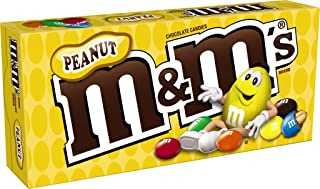 M&M'S Peanut Chocolate Candy Movie Theater Box 3.1-Ounce Box (Pack of 12)