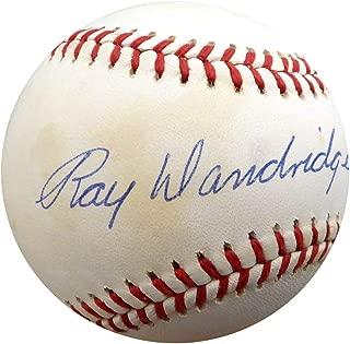 Ray Dandridge Signed Official AL Baseball Negro Leagues Memorabilia - Beckett Authentic