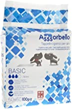 Tappetini Igienici Assorbenti Cane 60 x 60 cm 100 Pz Fuss Dog Basic