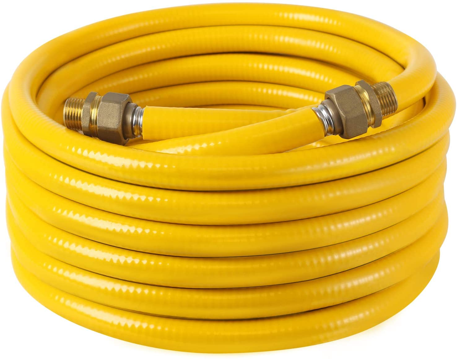 """Best Brose 1/2"""" Tubing Pipe KIT 150ft,Corrugated Stainless Steel Tubing with 2 Male Fittings : Industrial & Scientific"""