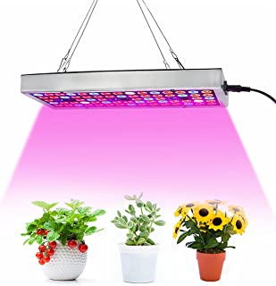 LED Grow Lights, Full Spectrum Panel Grow Lamp with IR & UV LED Plant Lights for Indoor Plants,Micro Greens,Clones,Succule...