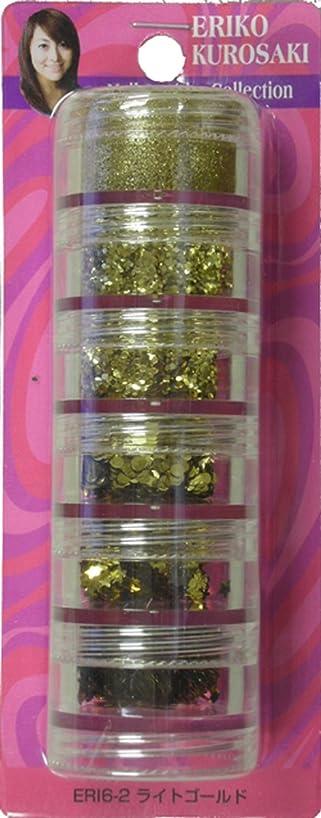 幻影ネックレス憂鬱なビューティーネイラー エリコジュエリーコレクション 6段タワー ERI6-2 ライトゴールド