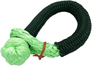 Ucreative Synthetic Soft Shackle 7/16'' X 19'' (36,400lbs Breaking Strength) Green