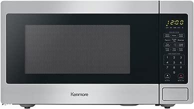 Kenmore Elite 71313 Countertop Microwave, 1.3 cu ft, Stainless Steel