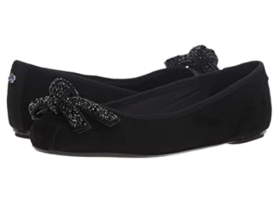 Kate Spade New York Freya Ballet Flat (Black Suede) Women