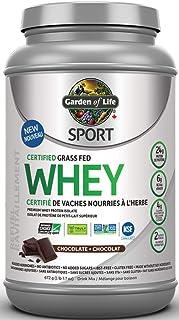 GARDEN OF LIFE Chocolate Sport Whey Protein, 672 GR