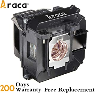 Araca ELPLP68 /V13H010L68 Replacement Lamp with Housing for Epson EH-TW6000 TW5910 TW6100 TW5900 PowerLite HC 3020 3020e 3010 3010e Projector
