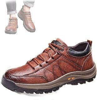 Hengyuan Chaussures de randonnée antidérapantes en Plein air pour Hommes, Chaussures d'outillage de Sport à Plate-Forme im...