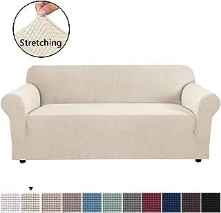 H.VERSAILTEX High Stretch Sofa Cover 1 Piece Couch Shield...