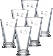 La Rochere Set Of 6, 11.5-ounce Napoleon Bee Double Old Fashioned Glasses
