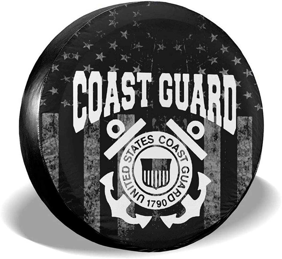 TIR3ECO3VER Tire Cover USA Ranking Charlotte Mall TOP4 Flags Universal Us Guard Spare Coast