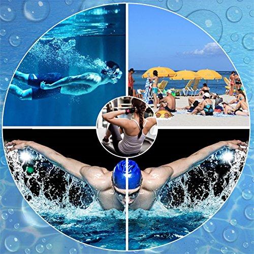 [SIXSPACE]マリンシューズウォーターシューズ水陸両用アクアシューズシュノーケリングビーチシューズ軽量通気ヨガサーフィン男女兼用青23.5cm