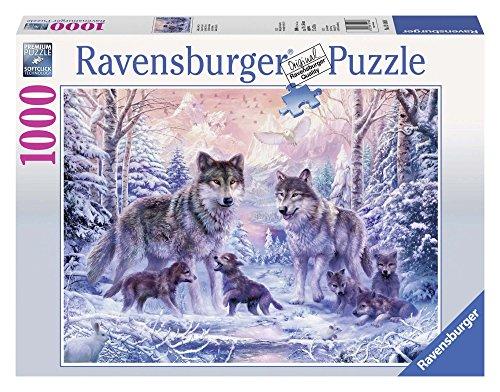 Ravensburger 191468 Puzzel Arctische Wolven - Legpuzzel - 1000 Stukjes