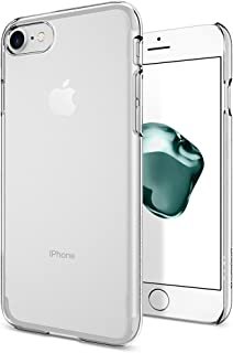 Spigen Thin Fit Designed for Apple iPhone 8 Case (2017) / Designed for iPhone 7 Case (2016) - Crystal Clear