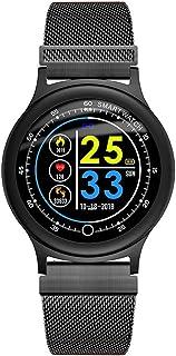 Pantalla Táctil Smart Fitness Watch Rastreador De Actividad A Prueba De Agua Monitor De Ritmo Cardíaco, Recordatorio De Llamada SMS Podómetro De Modo Multideporte, para Niños Hombres Mujeres