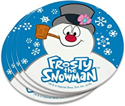 Frosty the Snowman Snowing Novelty Coaster Set