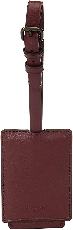Luggage Tag in Refined Leather