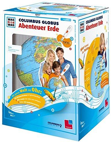 """WAS IST WAS Columbus Globus \""""Abenteuer Erde\"""": Ohne TING-Stift (TING - Spielen, Lernen, Wissen)"""