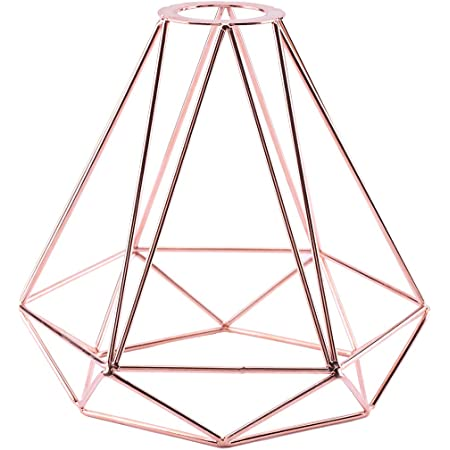 Vintage Industrial Metal Cage Ceiling Pendant Light Shade Easy Fitted Lampshade
