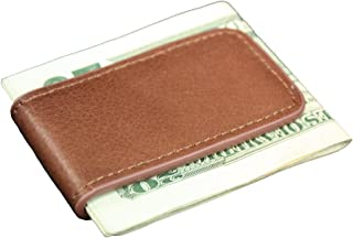 Genuine Leather Magnetic Money Clip Multiple Colors