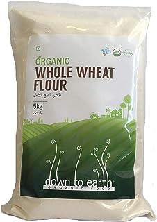 Down to Earth Organic Whole Wheat Flour - 5 kg