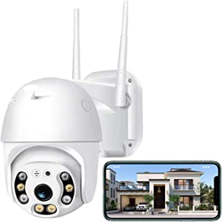 Security Camera Outdoor,Iposter 1080P HD WiFi Home Security Camera System,Wireless Security Camera with 360° View,AI Motio...
