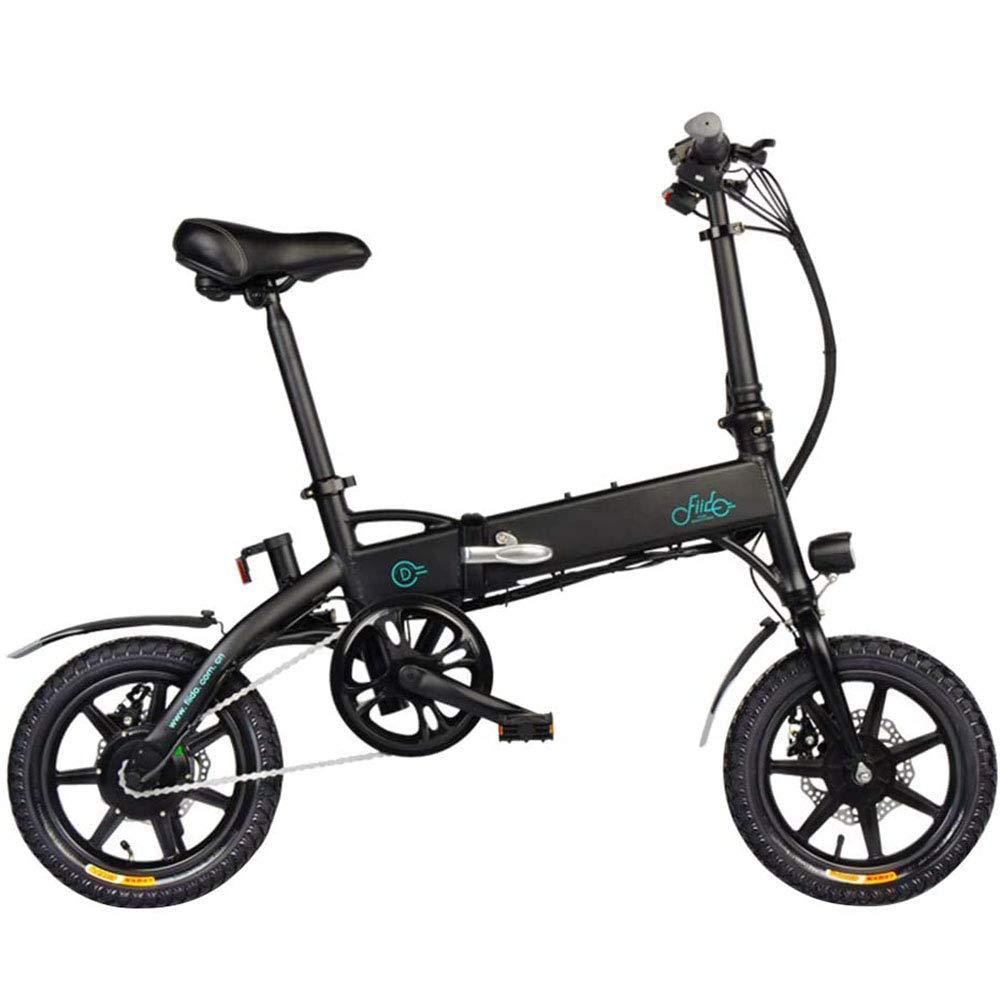CXYDP Plegable Bicicleta Eléctrica para Los Adultos, 36V 7.8Ah ...