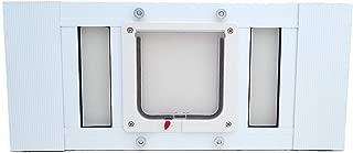 Aluminum Sash Window Pet Door - Cat Flap - 19