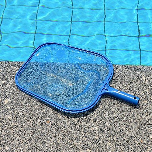 Piscine Nettoyage Filet Epuisette de Surface (Bleu)