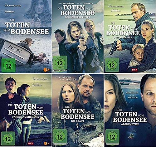 Die Toten vom Bodensee 6er Film Paket u.a. Familiengeheimnis, Der Wiederkehrer ... [DVD Set]