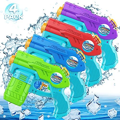 AOLUXLM 4X Wasserpistole Klein Pool mit...