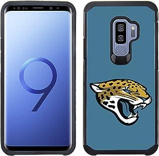 Prime Brands Group Textured Team Color Cell Phone Case for Samsung Galaxy S9 Plus - NFL Licensed Jacksonville Jaguars