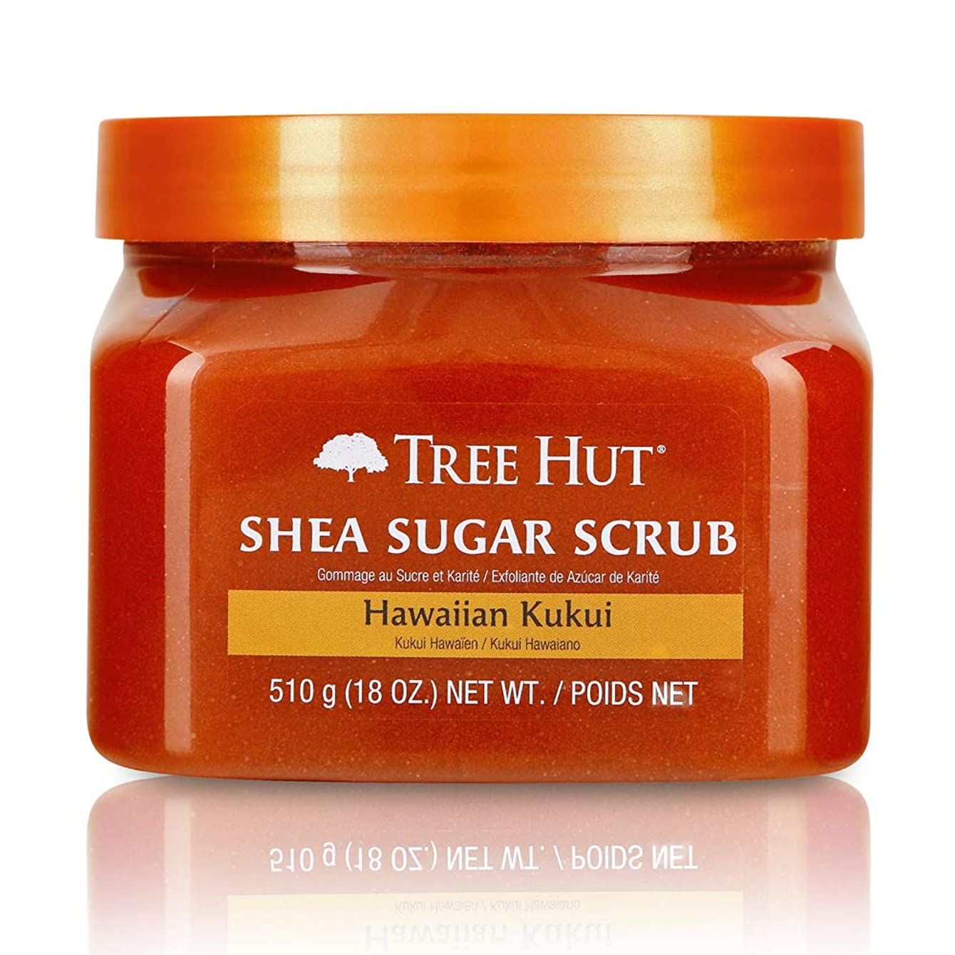 Tree Hut Body Scrub Hawaiian Kukui 510g (並行輸入品)