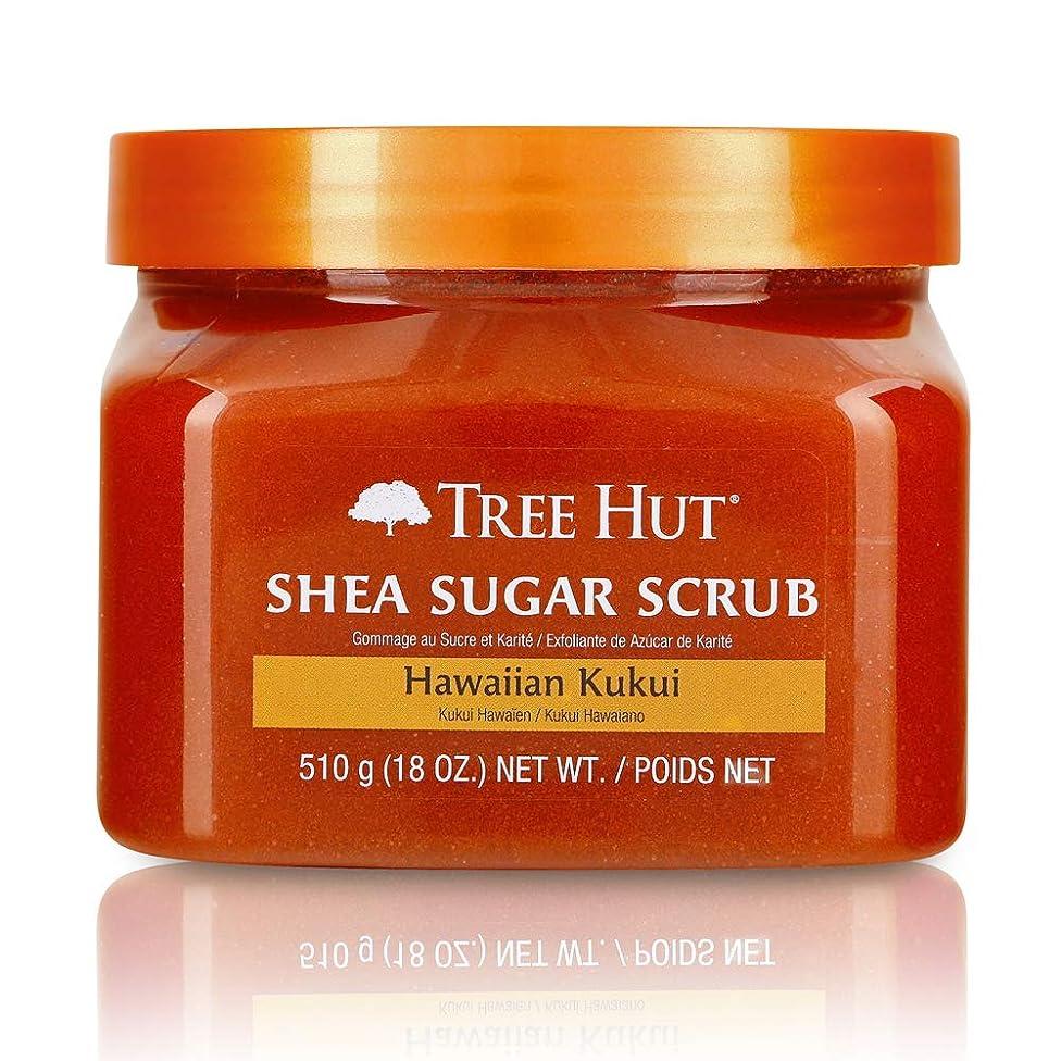 Tree Hut Shea Sugar Scrub Hawaiian Kukui, 18oz, Ultra Hydrating and Exfoliating Scrub for Nourishing Essential Body Care (Pack of 3)