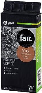 Oxfam Organic Fair Trade Ground Coffee Africa Blend 250g