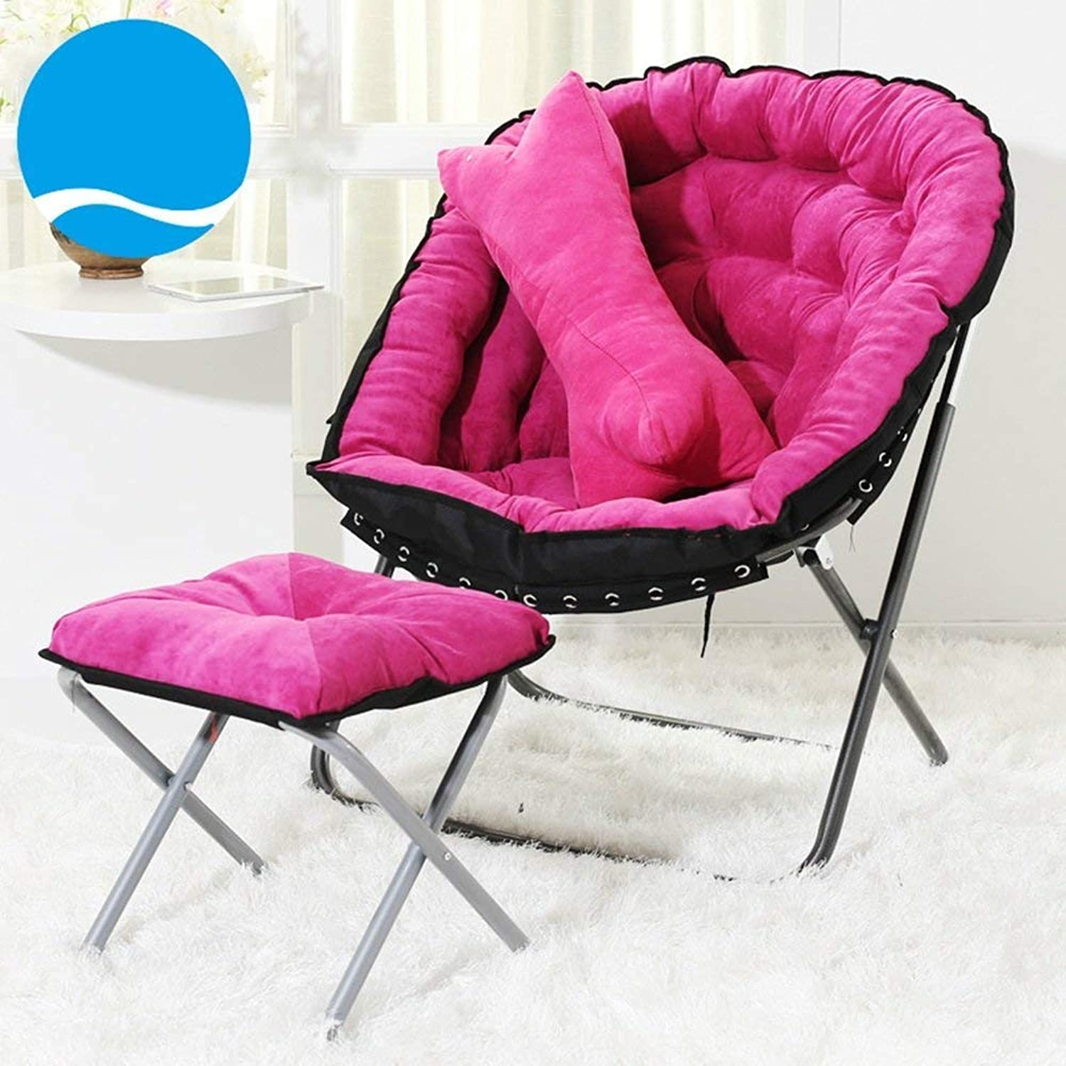 Foldable Computer Chair Sofa Chair Modern Lazy Sofa Dorm Chair Chairs Stable Chair Lazy Sofa (a Variety of colors Optional) (color    17)