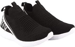 KazarMax XXIV Men's Black Slipon's Socks SneakersTrainersRunning Shoes [MSS002]