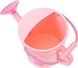 TOYMYTOY Pink Plastic Watering Can Long Spout Watering Kettle Flamingo Pattern Flower Water Spray Bottle Plant Mister Pot ...