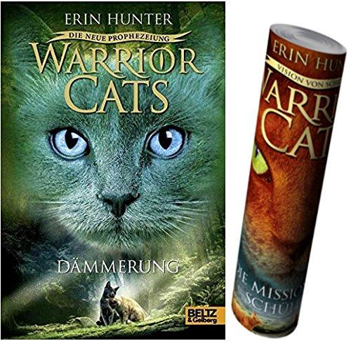 Beltz & Gelberg Warrior Cats - Die Neue Prophezeiung. Dämmerung: Staffel II, 5 + Warrior Cats Poster