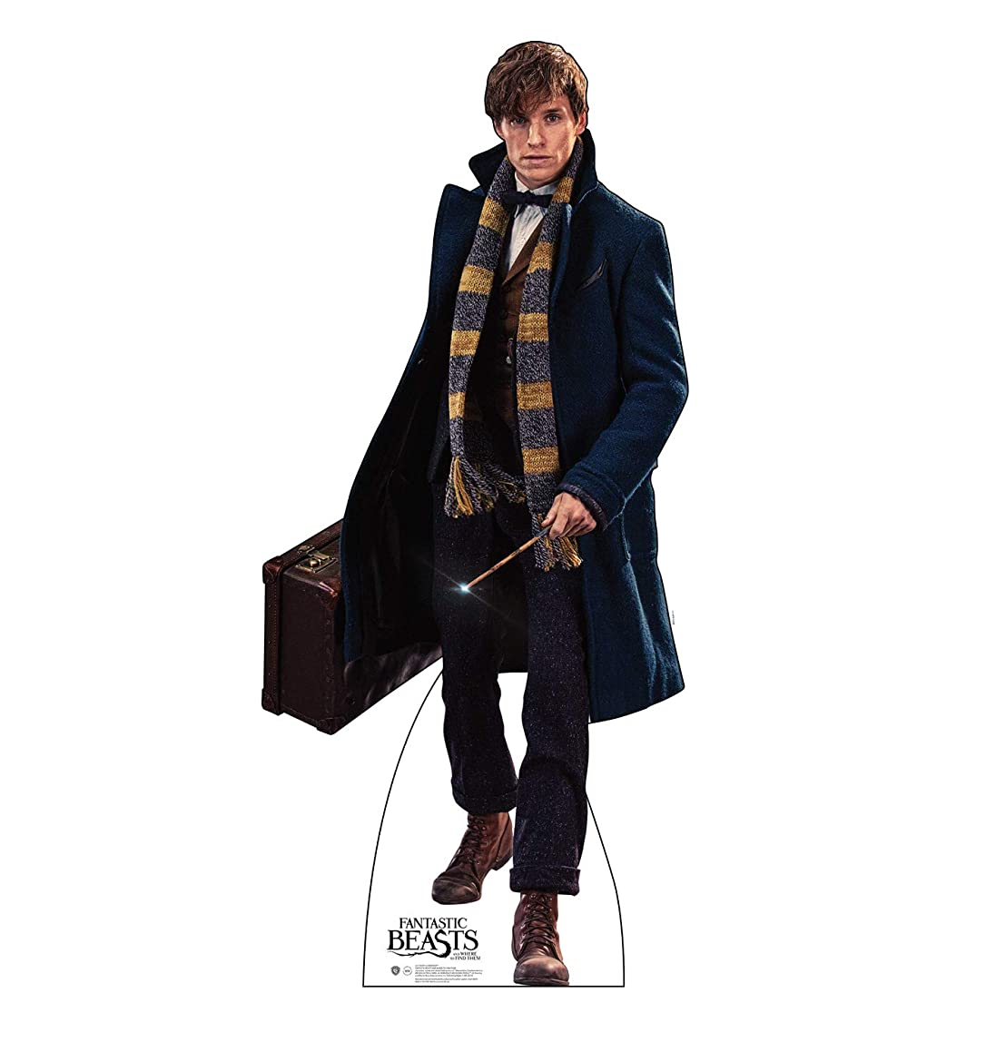 Advanced Graphics Newt Scamander Life Size Cardboard Cutout Standup - Fantastic Beasts and Where to Find Them (2016 Film)