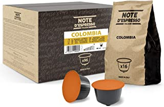 Note d'Espresso - Lot de 96 capsules de café - Exclusivement compatible avec les machines Nescafé* et Dolce Gusto* - Colom...