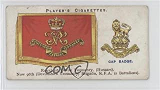 Royal 1st Devon Yeomanry Ungraded COMC Good to VG-EX (Trading Card) 1924 Player's Drum Banners & Cap Badges - Tobacco [Base] #41
